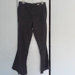 Level 99 linen grey pants Newport wide leg 28